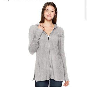Nanette Lepore Play gray hoodie